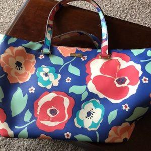 Used Kate Spade floral tote